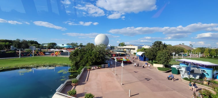 Splash Pad in Epcot has been removed