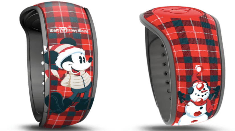 New Christmas Pre Arrival Magic Bands land on the Disney World Website