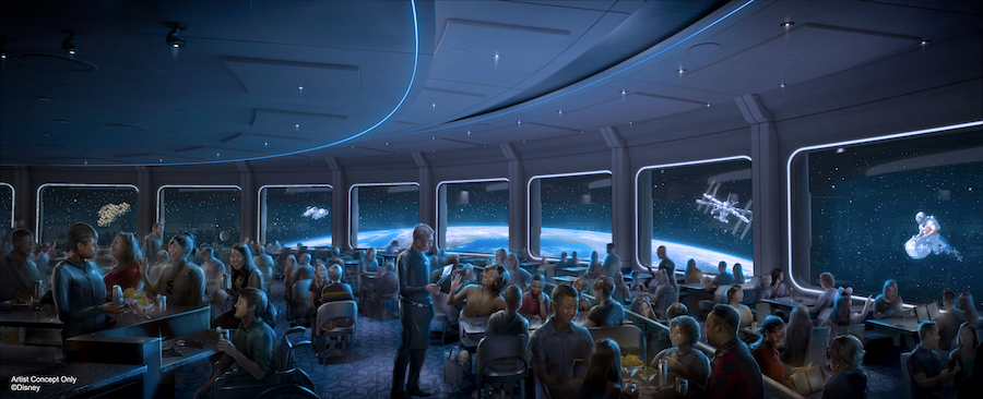First look: Space 220 restaurant menu coming to Epcot