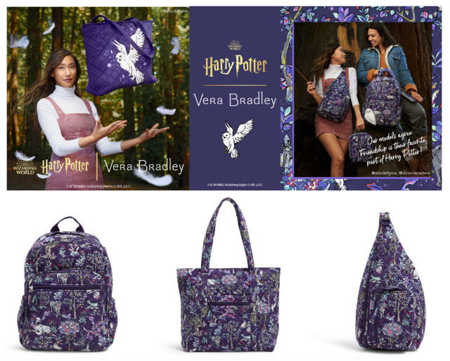 Vera Bradley + Harry Potter Launch New Forbidden Forest Collection! 1