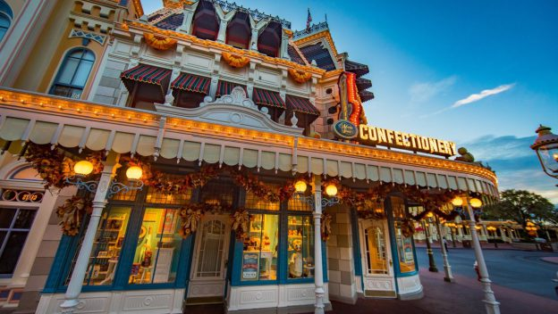 Main Street Confectionery opens early in the Magic Kingdom