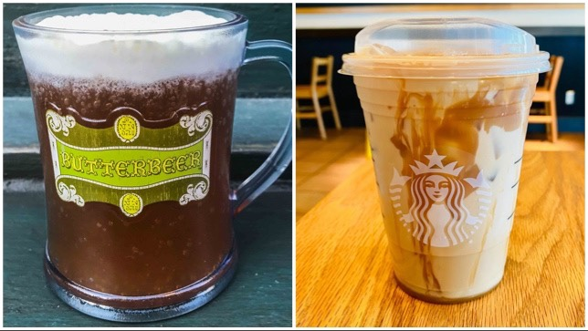 Accio Magical Butterbeer Latte From Starbucks!