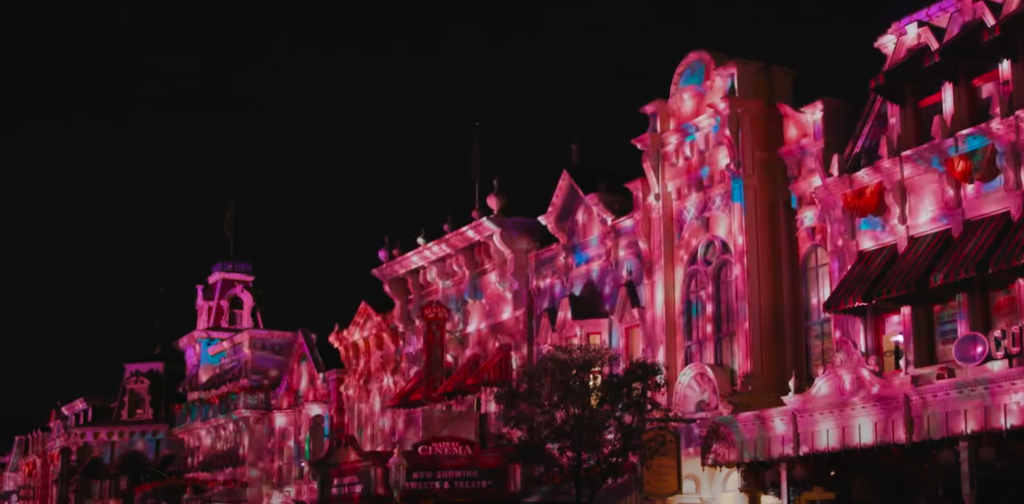 First look at the Main Street Projections for Disney Enchantment 4
