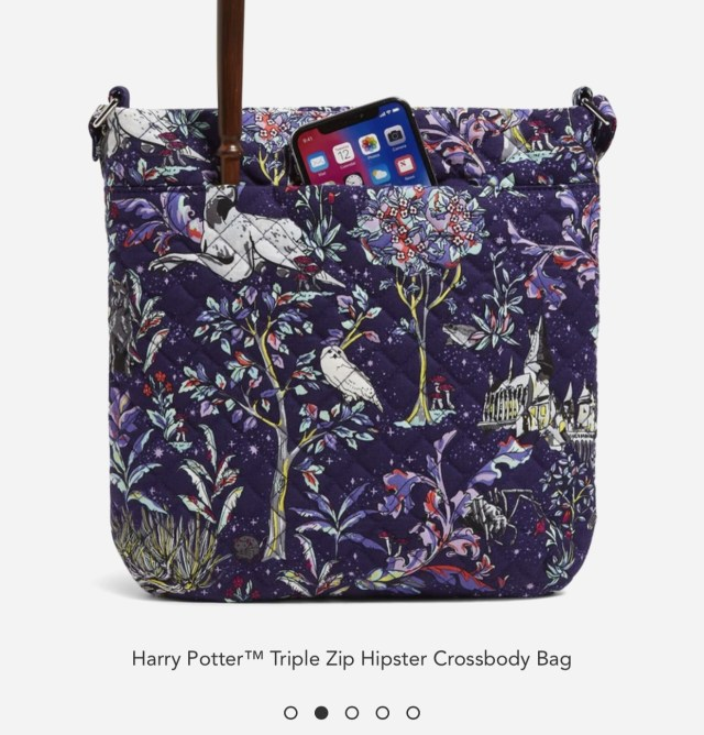 Vera Bradley + Harry Potter Launch New Forbidden Forest Collection! 10