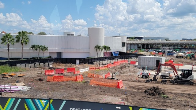 Moana Journey of water construction update from Epcot 3