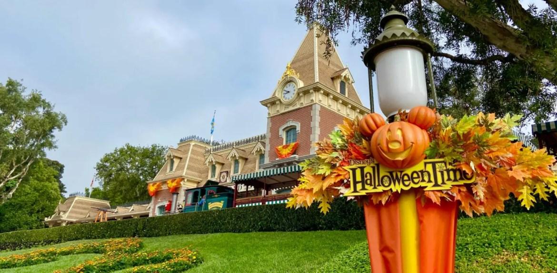 Halloween Time has come to Disneyland