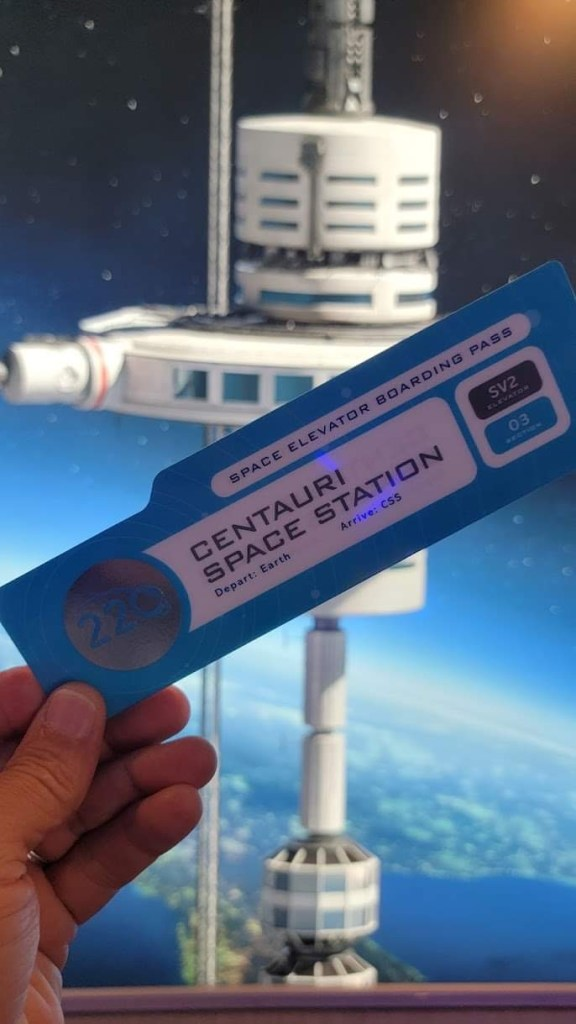 Space 220 in Epcot is now using a Virtual Queue System 3