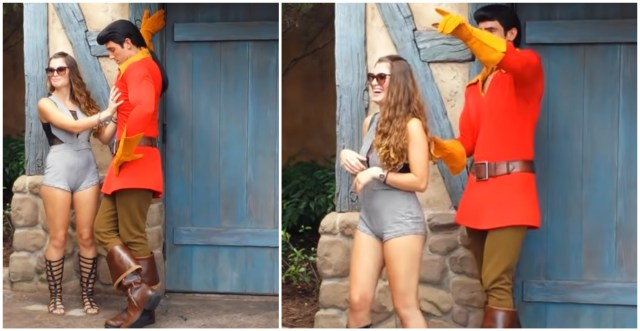 Gaston Forces Disney Guest to Leave Meet & Greet After Harassing Him 2