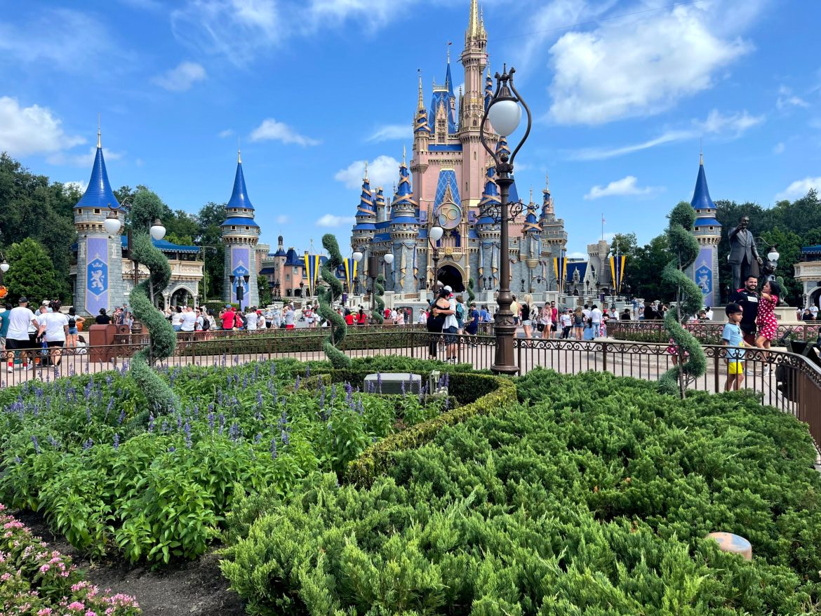 Bronze Character Statues Removed from the Hub in the Magic Kingdom