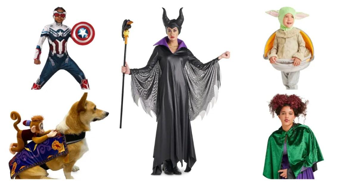 Celebrate Halloween With Iconic Disney Costumes