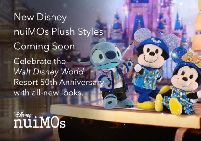 50th Anniversary nuiMOs Styles Coming Soon to Disney 2