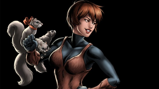 Squirrel Girl from the Marvel Comics
