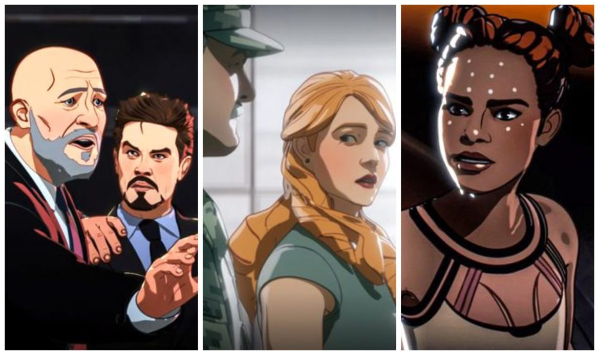 Marvel Studios' 'What If…?' Replaces 'Iron Man' Characters with New Voice Actors