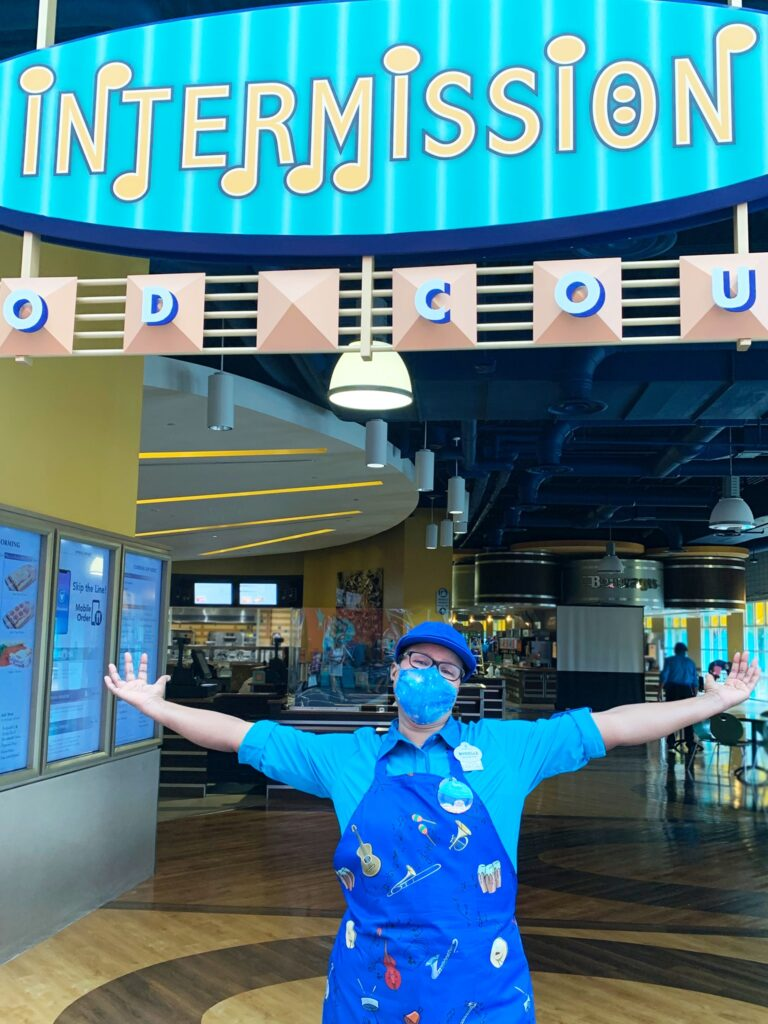 Disney Cast Members celebrate the reopening of All-Star Music Resort 3