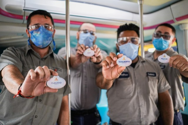 Disney World Cast Members receive new 50th Anniversary Name Badges 1
