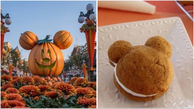 Adorable And Delicious Mickey Pumpkin Whoopie Pie!