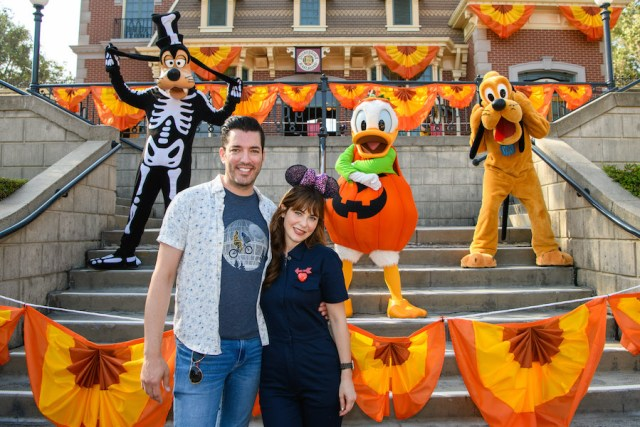Stars come out for fall fun at Disneyland 1