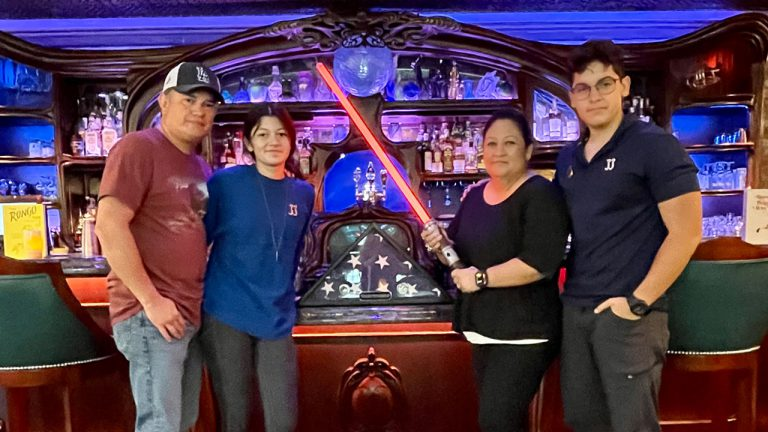 Family of Fallen Marine Visits Disneyland to Rebuild Lightsaber in His Honor
