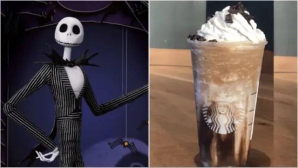 Jack Skellington Frappuccino