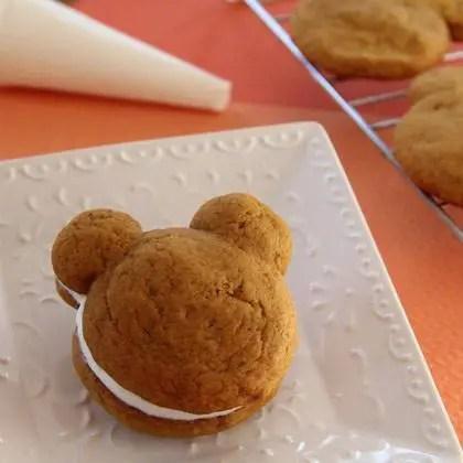 Mickey Pumpkin Whoopie Pie