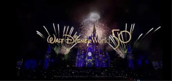 Walt Disney World 50th Anniversary Commercial