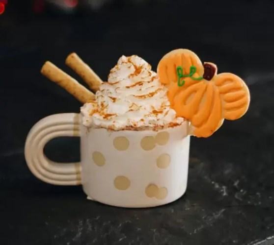 Mickey Pumpkin Spice Hot Cocoa