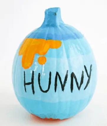 Winnie the pooh and hunny pot pumpkins