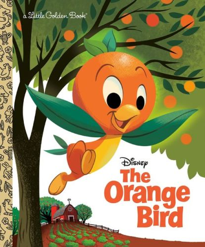 The Orange Bird Disney Little Golden Book Cover