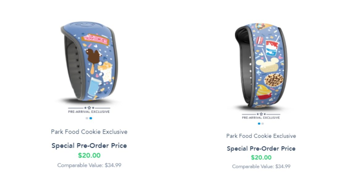 Pre Arrival Park Food MagicBand now available on Disney World website