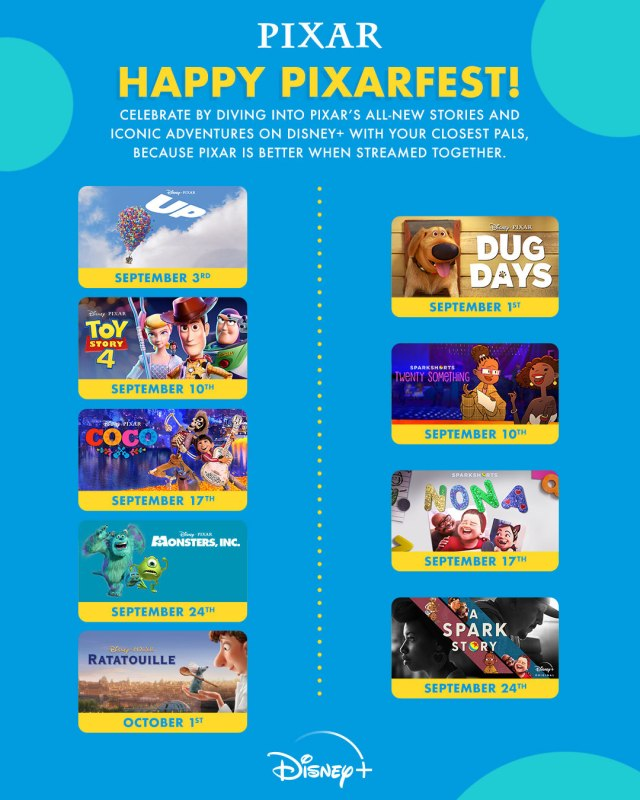 Celebrate Pixar Fest 2021 With These New Offerings 4