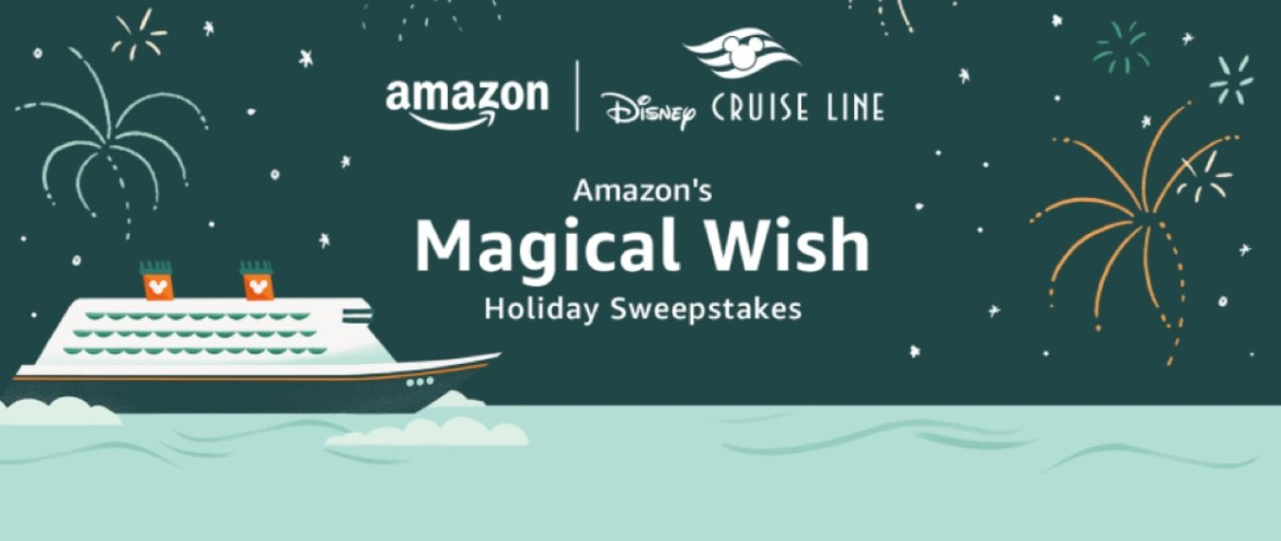 Amazon is giving away a free cruise on the Disney Wish