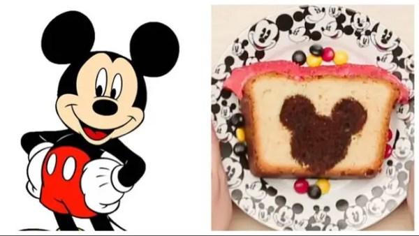 Hidden Mickey Cake