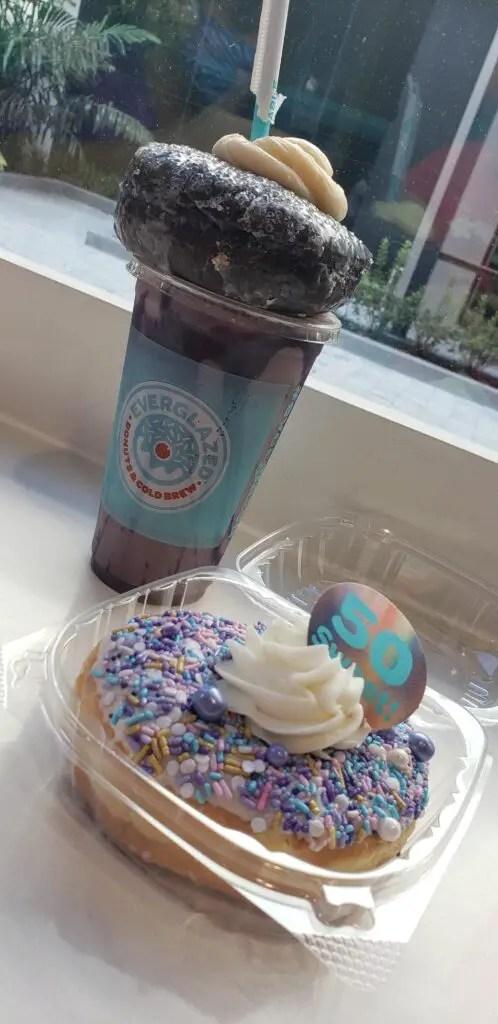 50th Anniversary Donut from Everglazed in Disney Springs 1