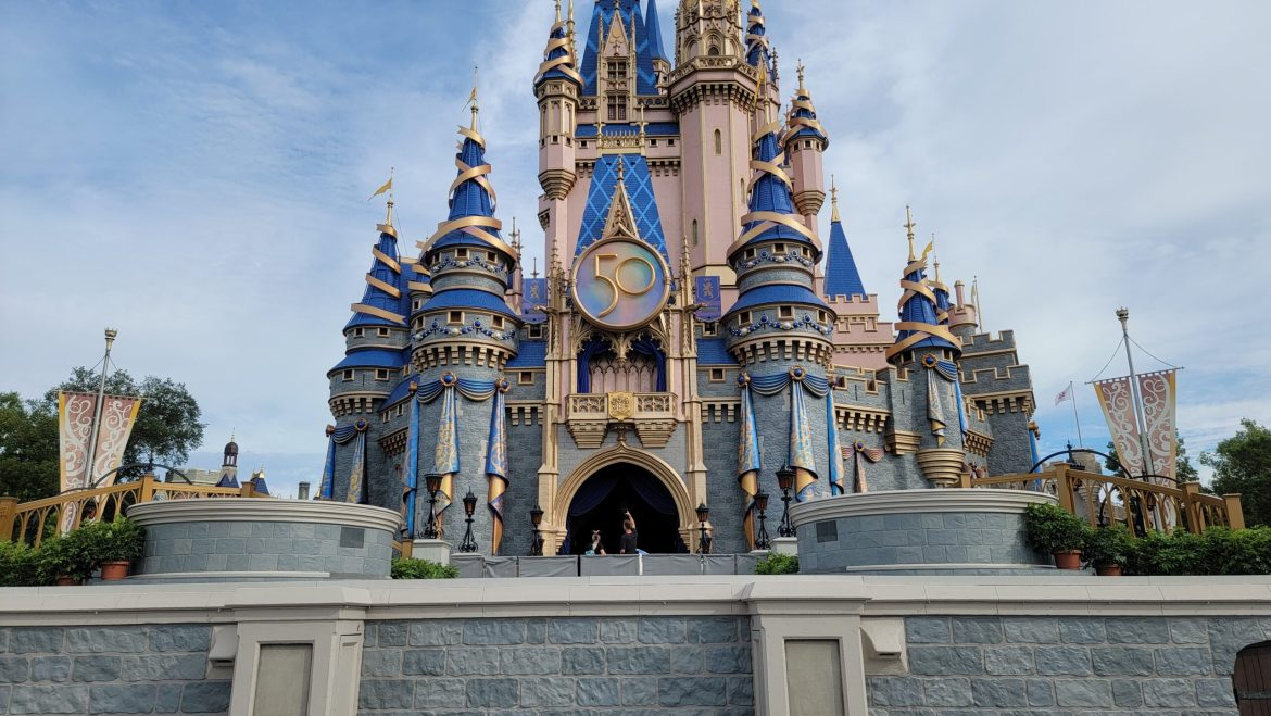 New Cinderella Castle Stage is now complete