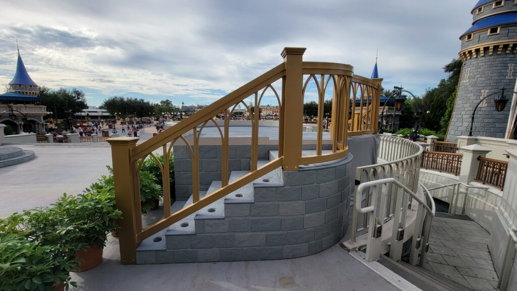 New Cinderella Castle Stage is now complete 4