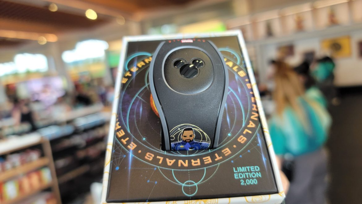 Marvel Eternals Limited Edition Magic Band spotted at Disney World