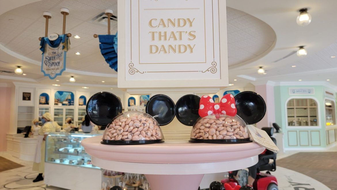 Disney World 50th Anniversary M&M's now available at the Magic Kingdom