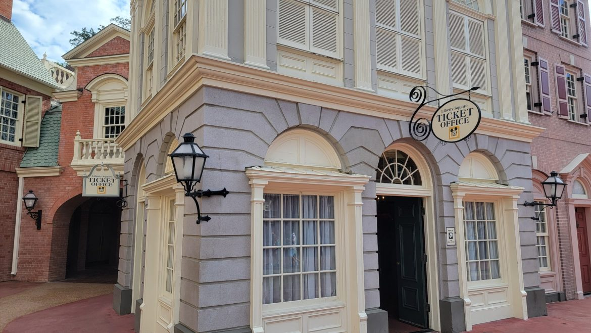 Liberty Square Ticket Office now open in the Magic Kingdom