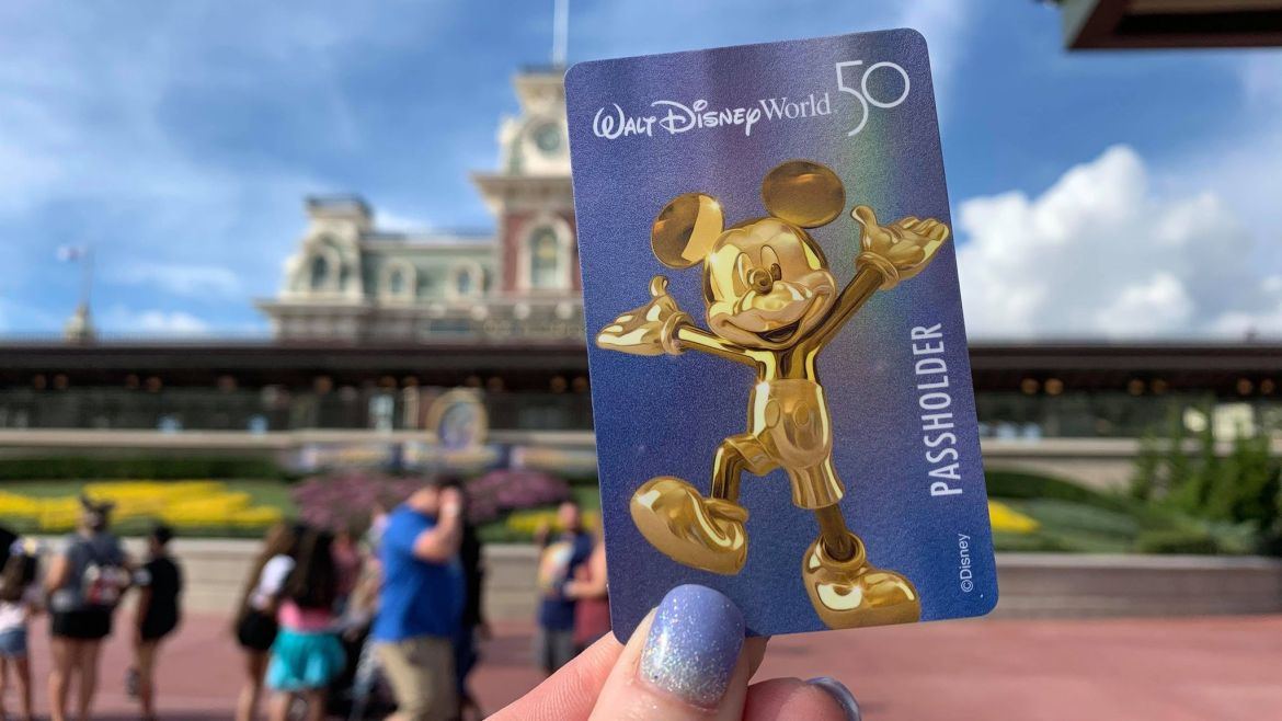 Disney World 50th Anniversary Annual Pass Cards now available