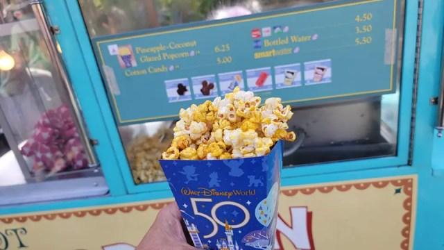 Disney World 50th Anniversary Popcorn gives us island vibes 3