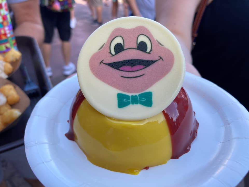 Take a ride with this New Mr.Toad Dome Cake