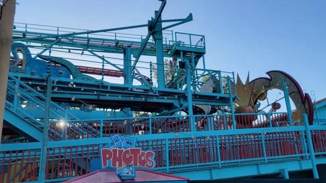 Primeval Whirl in Disney's Animal Kingdom demolition progress 2