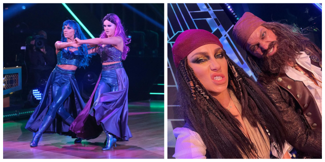 """See the """"Villains"""" Disney Night Costumes from 'Dancing with the Stars' 1"""