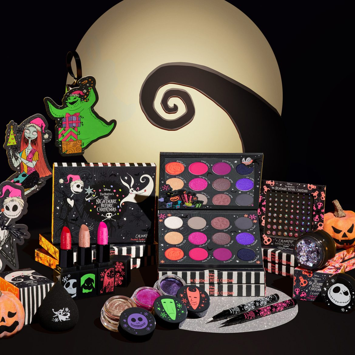 Don't Be Scared A Nightmare Before Christmas ColourPop Collection Is Coming Soon