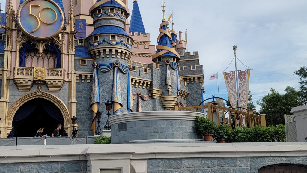 New Cinderella Castle Stage is now complete 2