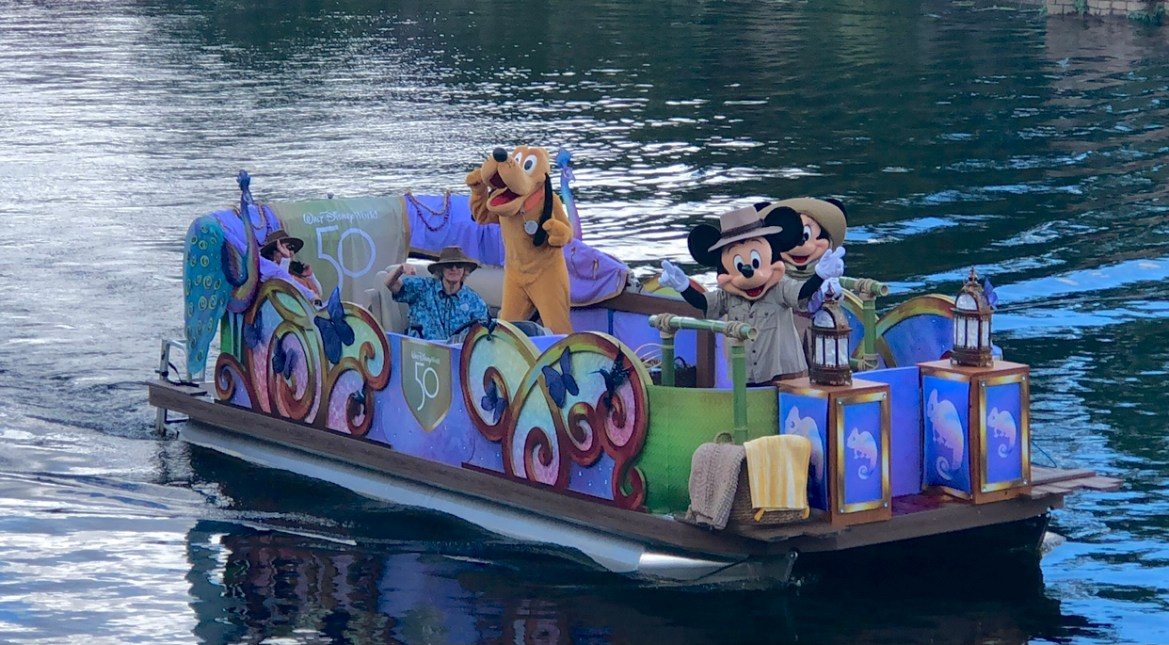 Animal Kingdom Character Float receieve 50th Anniversary Makeover