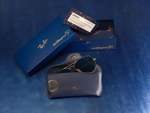 Limited Edition 50th Anniversary Ray-Ban Sunglasses at Walt Disney World! 2