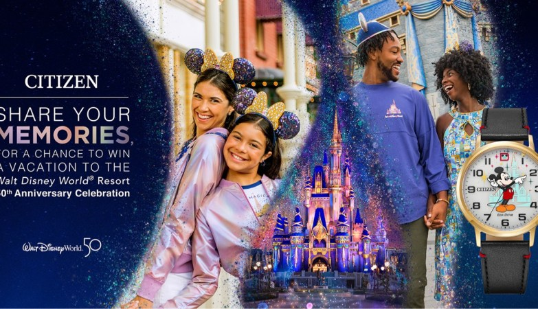 Enter for a chance to win a trip to Walt Disney World from Citizen 4