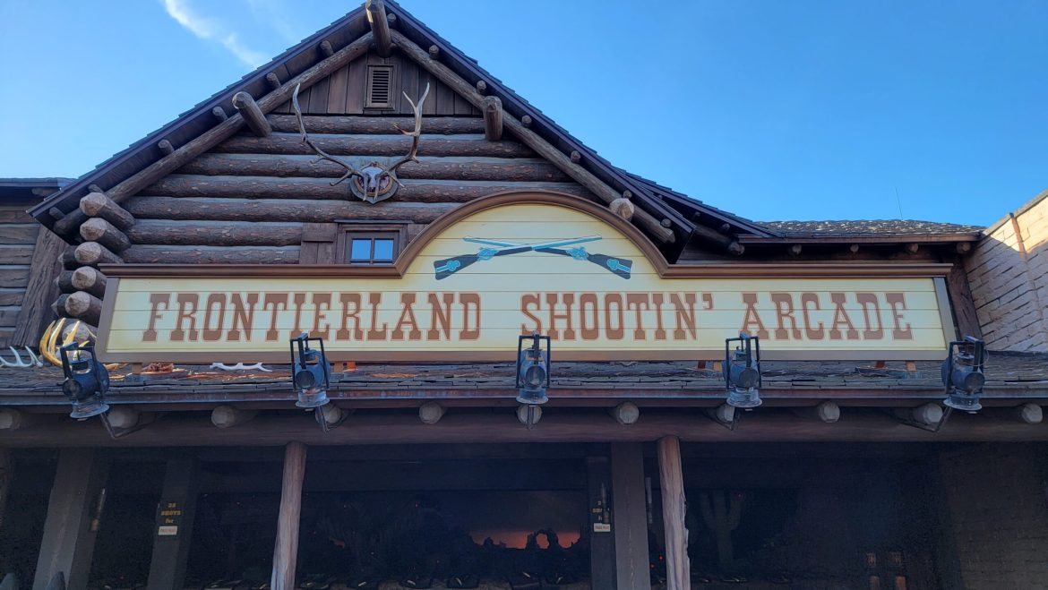 Frontierland Shootin' Gallery is now free in the Magic Kingdom