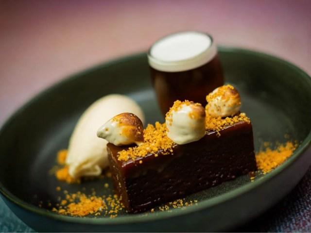 Try the decadent Kepples Kilkenny Cream Brownie at Raglan Road 1